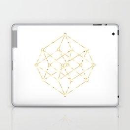 golden line . pink decorative art prints for living rooms, Wallpaper Laptop & iPad Skin