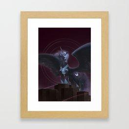 Nightmare Moon - Intimidate Framed Art Print