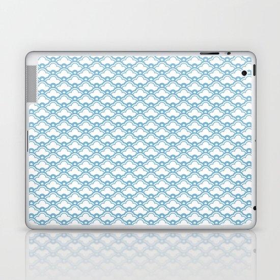 matsukata in dusk blue Laptop & iPad Skin