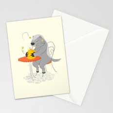 Honeybadger à Paris Stationery Cards