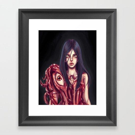 Flesh Maiden Framed Art Print