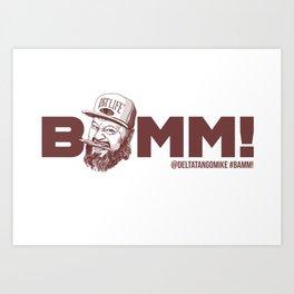 BAMM!!! Art Print