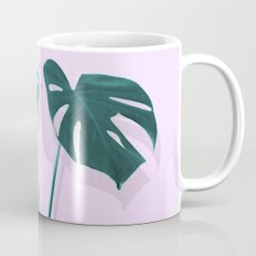 Monstera Palm on Musk Coffee Mug
