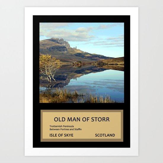 Travelling in Scotland No. 2 Art Print