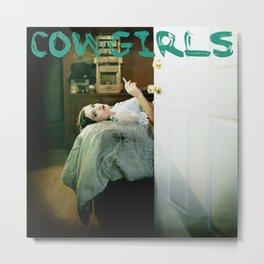 Cowgirls Logo Metal Print