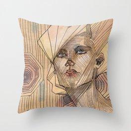 Upward Motion Throw Pillow