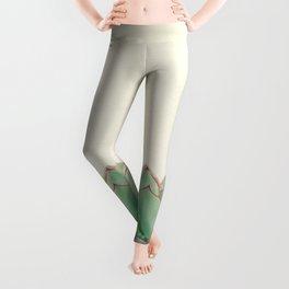 Echeveria Leggings