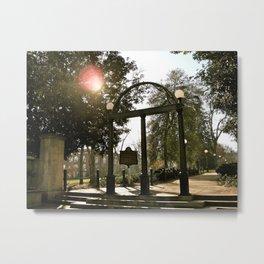 The Arch at UGA Metal Print