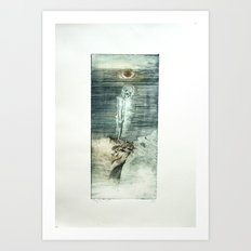 Porfiria Sadness Art Print