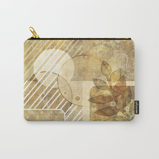 The old map . Grunge . Retro . Vintage . Carry-All Pouch