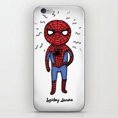 Super Cute Heroes: Spidey Senses iPhone & iPod Skin