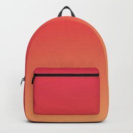 PEACHES - Minimal Plain Soft Mood Color Blend Prints Backpack