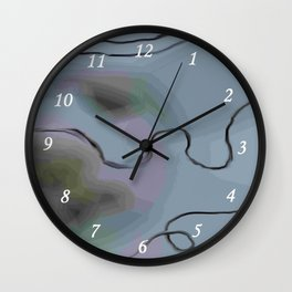 Sideral Ribbon Wall Clock