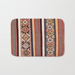 Salé  Antique Morocco North African Flatweave Rug Print Bath Mat