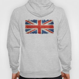 British flag of the UK, retro style Hoody