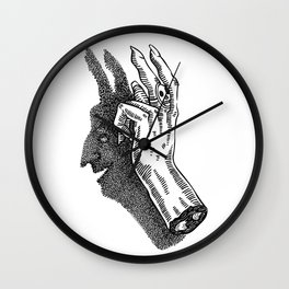 Ombromanie Wall Clock