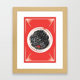 Microscopic Framed Art Print