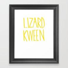 luh dee dah Framed Art Print
