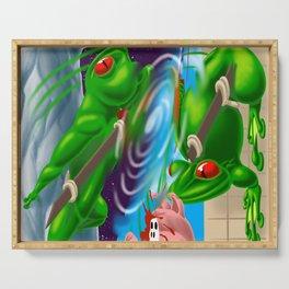Ninja Frog Serving Tray