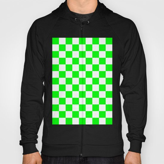 Checker (Green/White) Hoody