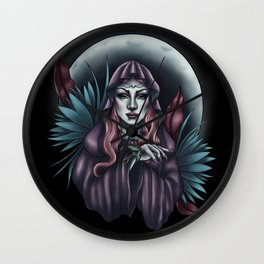Priestess Wall Clock