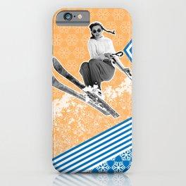 Ski Like a Girl iPhone Case