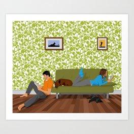 Family Portrait Art Print