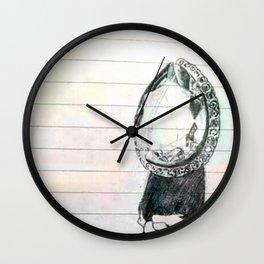 colour diamonds Wall Clock