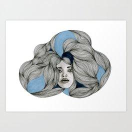 Drawing No.4  Art Print