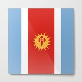 flag of Santiago del Estero Metal Print
