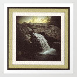 Appalachian Stream Art Print