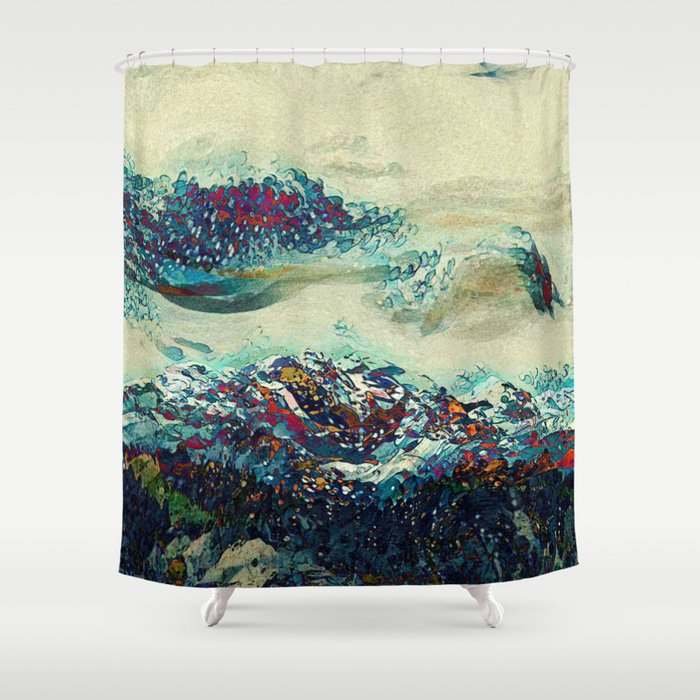 Dream Landscape Shower Curtain