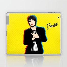Pat Benatar - Pop Art Laptop & iPad Skin