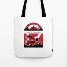 Greetings from London Tote Bag