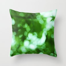 Green Light II Throw Pillow