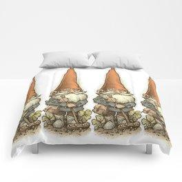 Garden Gnome Lineup Comforters