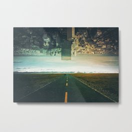Roads Ahead Metal Print