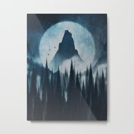 Find your mountain Metal Print