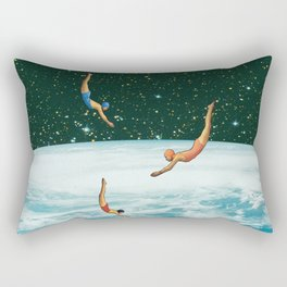 Space jumps Rectangular Pillow