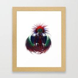 Quetzalcoatl Framed Art Print