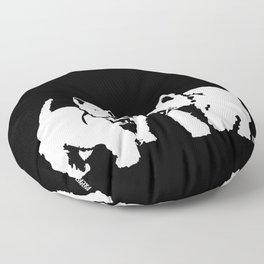 "West Highland Terrier ""The Westie"" Man's Best Friend Floor Pillow"