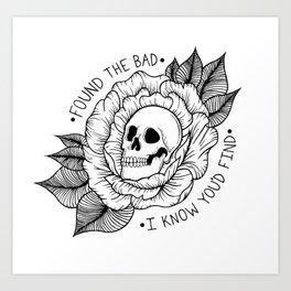 Found the Bad Art Print