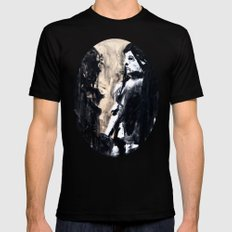 Reflections Mens Fitted Tee MEDIUM Black