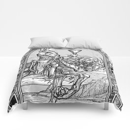 Knight of Cups Comforters