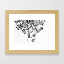 Under The Flowering Tree Framed Art Print
