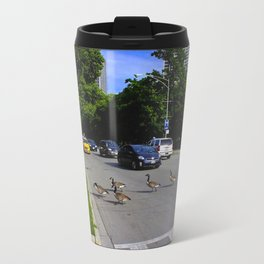 We Brake For Geese (Birds of Chicago Collection) Travel Mug
