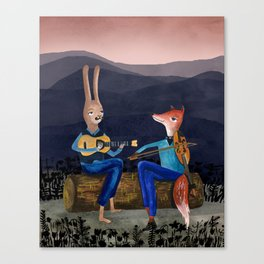Smoky Mountain Gypsy Jazz Canvas Print