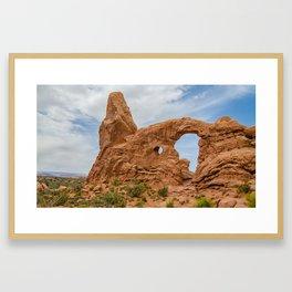 Turret Arch - Arches National Park - Utah Framed Art Print