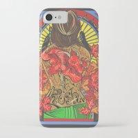 rush iPhone & iPod Cases featuring Rush by Carol Wellart