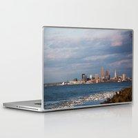 cleveland Laptop & iPad Skins featuring Cleveland Rocks by GammaRayRobot